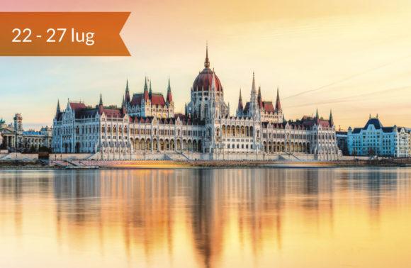 Budapest e l'ansa del Danubio con visite a Lubiana e Trieste