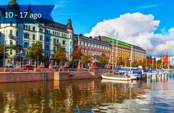 Helsinki e le tre Capitali Baltiche