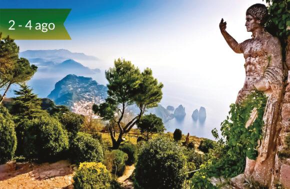 Sorrento e Capri con Visita alla Reggia di Caserta