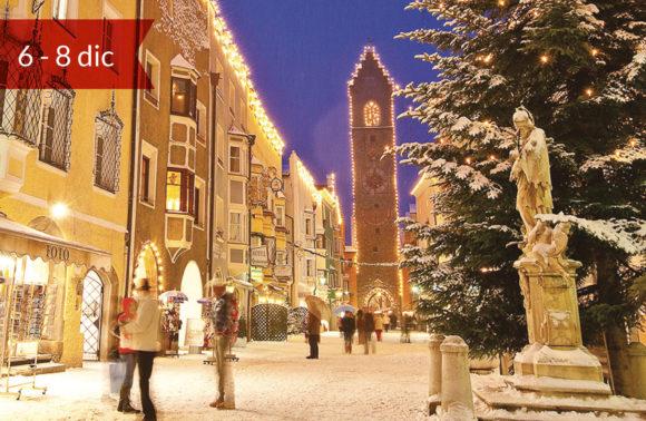 Mercatini di Natale a Vipiteno, Merano Bolzano e Verona