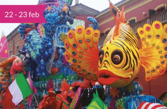 Ravenna, Ferrara e il Carnevale di Cento