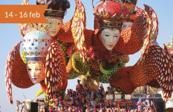 Siena, Pisa, Lucca, e il Carnevale di Viareggio